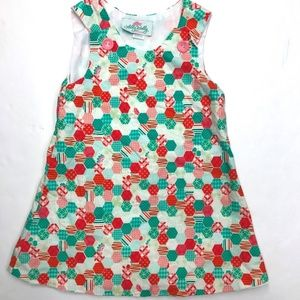 Lolly Wolly Doodle Girls Sleeveless Dress Size 2